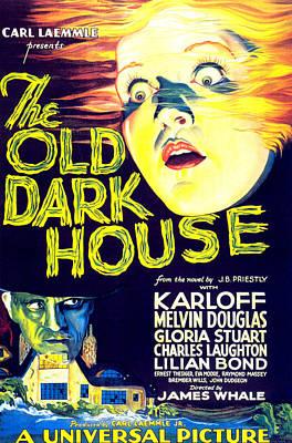 Horror Movies Photograph - The Old Dark House, Gloria Stuart, 1932 by Everett