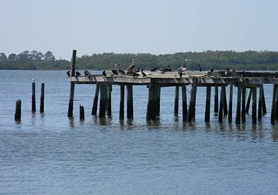 The Old Dock Of Cedar Key Original by Warren Thompson