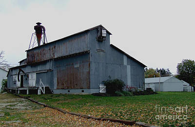 Photograph - The Old Feed Mill by Scott B Bennett