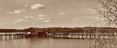 Photograph - The Old Fish Dock by Ansel Price