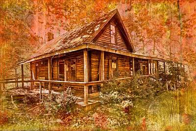 Abandoned Cabins Smoky Mountains Wall Art - Photograph - The Old Homestead by Debra and Dave Vanderlaan