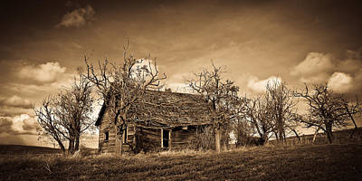 Photograph - The Old House by Steve McKinzie
