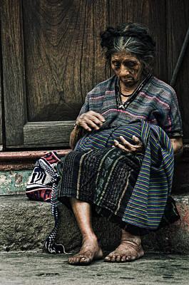 Antigua Photograph - The Old Lady Film by Francesco Nadalini