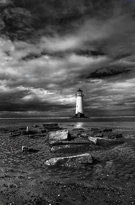 Lighthouse Digital Art - The Old Lighthouse  by Adrian Evans