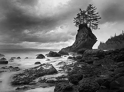 The Old Man Of The Sea - Strait Of Juan De Fuca Art Print by Nathan Mccreery