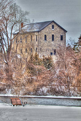 Ottawa Digital Art - The Old Mill by Bill Lindsay