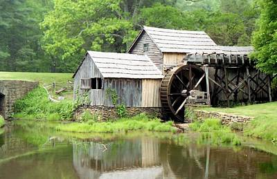 Photograph - The Old Mill by Lynnette Johns