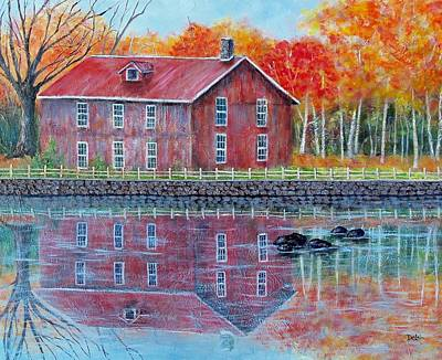 The Old Mill Art Print by Susan DeLain