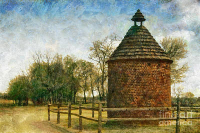 Digital Photograph - The Old Pigeonaire by Susan Isakson