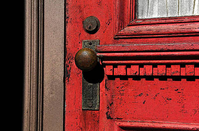 The Old Red Door Art Print by David Lee Thompson