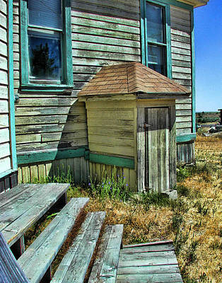 Old Schoolhouses Photograph - The Old Schoolhouse by Bonnie Bruno