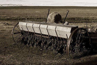 Photograph - The Old Seeder by Lorraine Devon Wilke