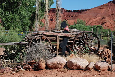 Photograph - The Old Wagon by Dany Lison