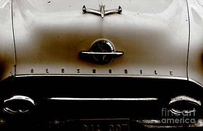 Transportation Photograph - The Oldsmobile  by Steven Digman
