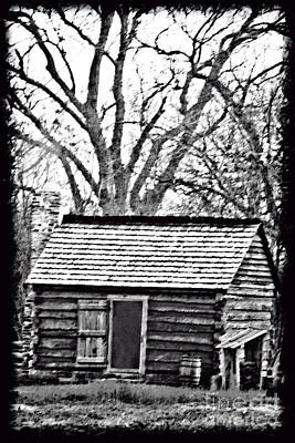 Photograph - The Ole Cabin by Kim Henderson