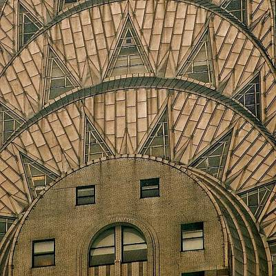 Skyscraper Wall Art - Photograph - The One And Only Chrysler Bldg. - New by Joel Lopez