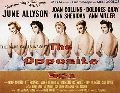 Fid Photograph - The Opposite Sex, June Allyson, Joan by Everett