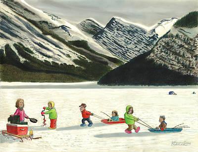 The Optimists Art Print by Tim Koziol