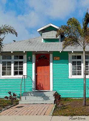 Photograph - The Orange Door by Michelle Wiarda