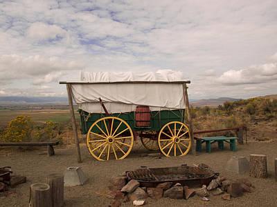 The Oregon Trail No 4 Art Print