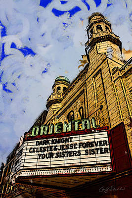 Digital Art - The Oriental Theatre by Geoff Strehlow