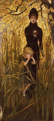 Grief Painting - The Orphan by James Jacques Joseph Tissot