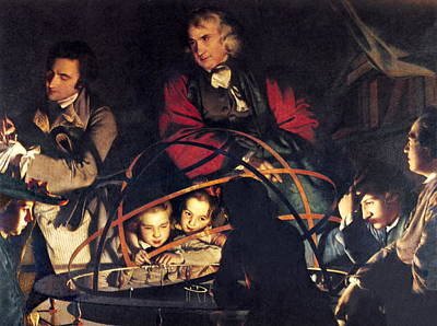 Orrery Photograph - The Orrery By Joseph Wright by Sheila Terry