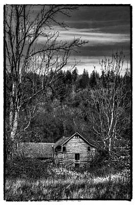 The Orting Barn Art Print by David Patterson
