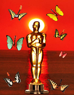 Digital Art - The Oscars  by Eric Kempson