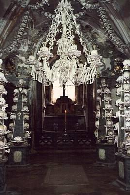 The Ossuary At Sedlec 1 Art Print