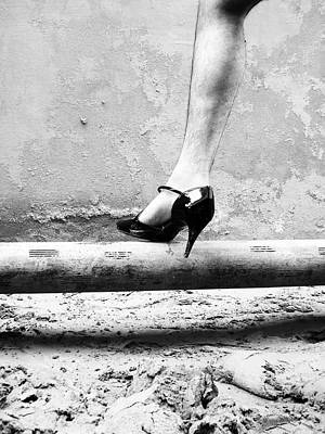Whores Photograph - The Other Shoe 1 by Sumit Mehndiratta