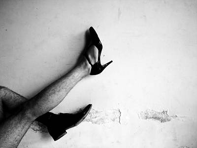 Whores Photograph - The Other Shoe 3 by Sumit Mehndiratta