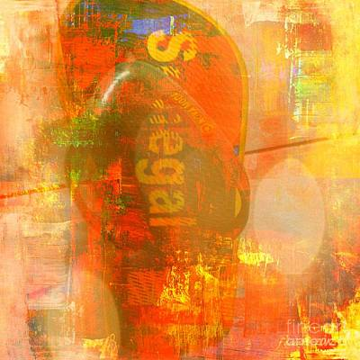 Missing Mixed Media - The Other Side Of Senegal by Fania Simon