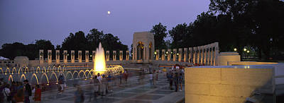 War Monuments And Shrines Photograph - The Pacific Pavilion And Pillars by Richard Nowitz