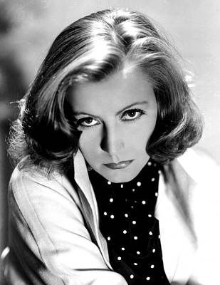 Clarence Sinclair Bull Photograph - The Painted Veil, Greta Garbo, Portrait by Everett
