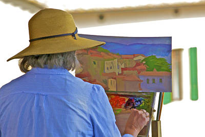 Of Painter Photograph - The Painter by David Letts