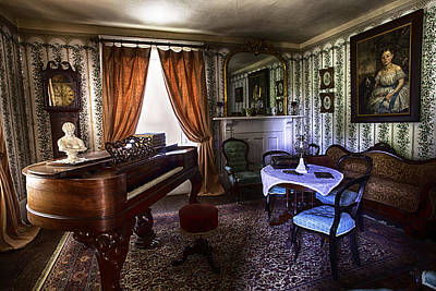 Photograph - The Parlor by Richard Lee