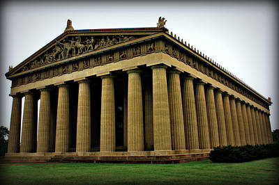 Photograph - The Parthenon by Sheila Kay McIntyre