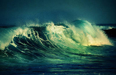 The Passion Of The Ocean II Art Print by Jenny Rainbow