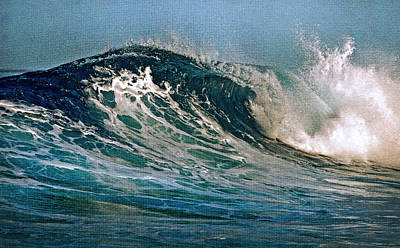 The Passion Of The Ocean Art Print by Jenny Rainbow