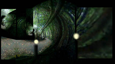 The Path Art Print by Rc Rcd