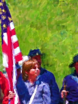 Painting - The Patriots by Cindy Wright