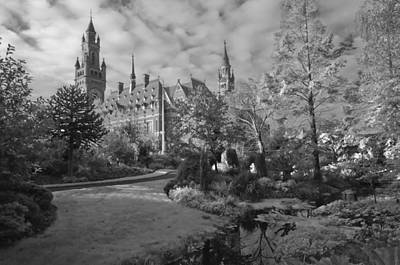 Carnegie Museum Photograph - The Peace Palace The Hague The Netherlands by Dawn  Black