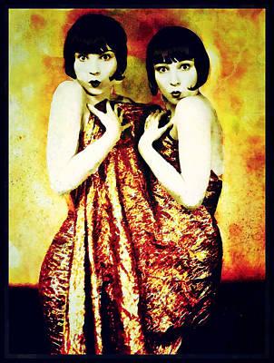 Photograph - The Pearl Twins by Mary Morawska