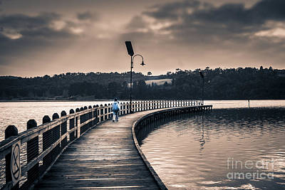Photograph - The Peir by James  Dierker