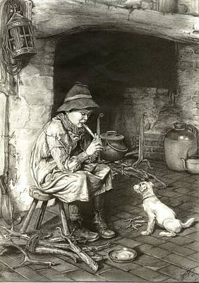 The Penny Whistle Art Print by Ronald Osborne