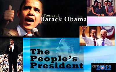 Joe Biden Photograph - The People's President by Terry Wallace