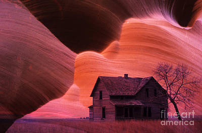 Abandoned Houses Photograph - The Perfect Storm by Bob Christopher
