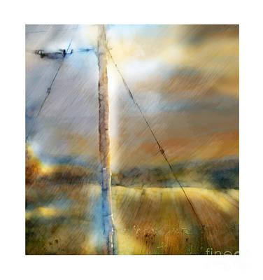 Rural Scenes Digital Art - The Perfect Storm by Bob Salo