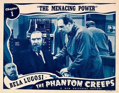 The Phantom Creeps, Chapter 1 The Art Print by Everett